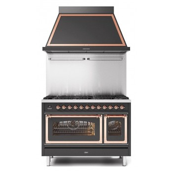 Ilve Cucina da accosto P12N Nostalgie Cucina da accosto cm 120 configurabile  inox o colorato