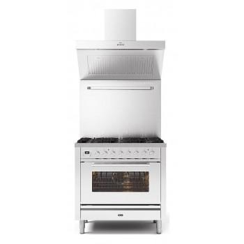 Ilve Cucina da accosto P09W Professional Plus Cucina da accosto cm 90 configurabile  inox o colorato