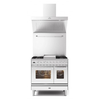 Ilve Cucina da accosto PD09W Professional Plus Cucina da accosto cm 90 configurabile  inox o colorato