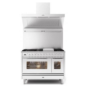 Ilve Cucina da accosto P12W Professional Plus Cucina da accosto cm 120 configurabile  inox o colorato