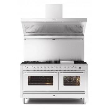 Ilve Cucina da accosto P15W Professional Plus Cucina da accosto cm 150 configurabile  inox o colorato