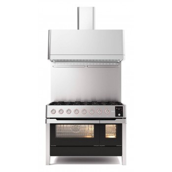 Ilve Cucina da accosto PM12 Panoramagic Cucina da accosto cm 120 configurabile  inox