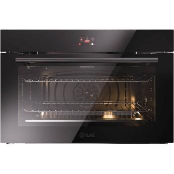 Ilve OV91STCT3 Professional Plus Forno elettrico multifunzione cm 90  cristallo nero