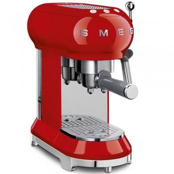 Macchina da caff ECF01RDEU  Rosso Estetica Linea Anni 50