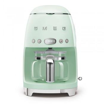 Macchina caff filtro DCF02PGEU  Verde pastello Linea Anni 50