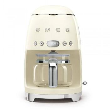 Macchina caff filtro DCF02CREU  Panna Linea Anni 50