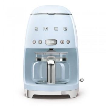 Macchina caff filtro DCF02PBEU  Azzurro Linea Anni 50
