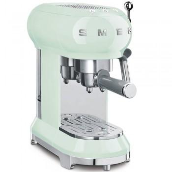 Macchina da caff ECF01PGEU  Verde Acqua Estetica Linea Anni 50