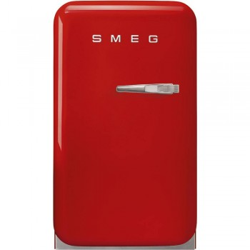 SMEG FAB5LRD5 EX MODELLO FAB5LRD3  Frigorifero Anni 50 Monoporta   Rosso  NUOVA CLASSE ENERGETICA D