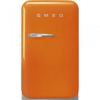SMEG FAB5ROR5 EX MDELLO FAB5ROR3  Frigorifero Anni 50 Monoporta   Arancione  NUOVA CLASSE ENERGETICA D
