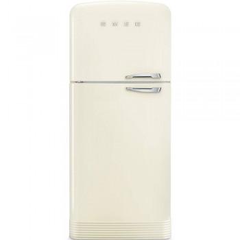 SMEG FAB50LCR5 EAN13 8017709299378 Frigorifero Anni 50 DoppiaPorta   Crema No Frost Totale NUOVA CLASSE ENERGETICA  E