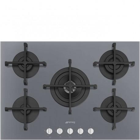 DISPOINIBILE PRONTA CONSEGNA Smeg PV275S Piano di cottura Estetica Selezione Gas 7075 cm VETRO effetto inox
