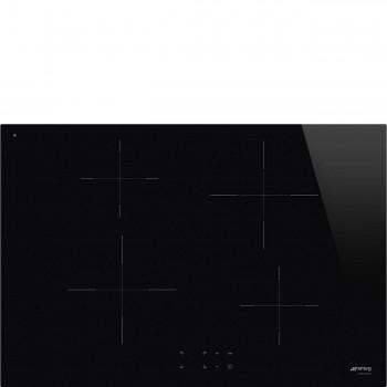 Smeg SI2741D Piano di cottura Estetica Universale Induzione 7075 cm Nero Incasso Semifilo con possibilit incasso a Filo