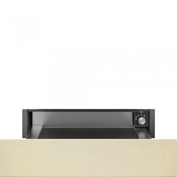 Smeg CPR815P Cassetto Coloniale Riscaldante 15 cm Panna