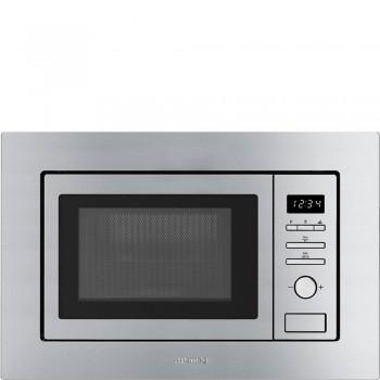 Smeg FMI020X Microonde Universale Da incasso Microonde con grill Acciaio Inox
