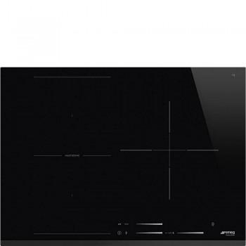 Smeg SI1M7733B Piano di cottura Estetica Universale Induzione 70 cm Nero Incasso Semifilo