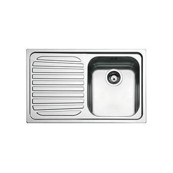 Smeg SP791S2 Lavello Universale Lavello saldato Standard Gocciolatoio Sinistro Numero vasche 1 Acciaio Inox