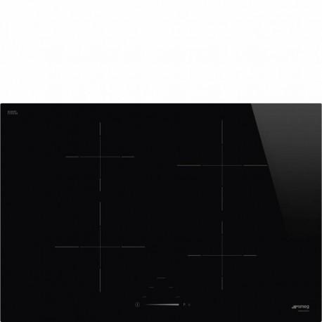 Smeg SI4742D Piano di cottura Estetica Universale Induzione 7075 cm Nero Incasso Semifilo con possibilit incasso a Filo