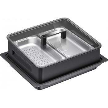 Neff Steaming set 190 x 455 x 375 mm acciaio inox Z19DD10X0 00577365