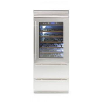Fhiaba  XS8990HWT larghezza 90cm  configurazione 1 porta  2 cassettoni  2 temperature indipendenti 0H