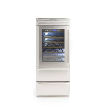 Fhiaba  MS8990HWT  larghezza 90cm  configurazione 1 porta  2 cassettoni  2 temperature indipendenti 0H