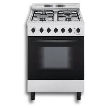 Jollynox 1CA60M7I Appoggio 60 Cucina da accosto cm 60  4 fuochi  1 forno elettrico  inox