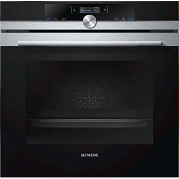Siemens HB673GBS1 Iq700 Forno multifunzione pirolitico cm 60  inox nero