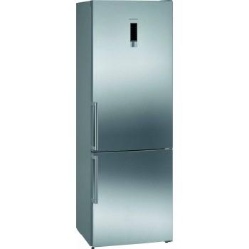 Siemens KG49NXIEP iQ300 Frigocongelatore combinato da libero posizionamento 203 x 70 cm inoxeasyclean