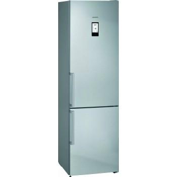 Siemens KG39NAIDP iQ500 Frigocongelatore combinato da libero posizionamento 203 x 60 cm inoxeasyclean