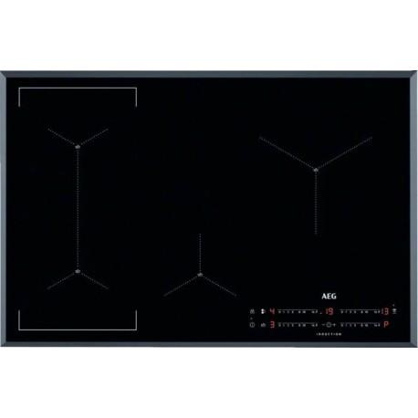 Aeg IAE84423FB Piano cottura a induzione cm 80  vetroceramica nero