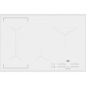 Aeg IKE84443FW Piano cottura a induzione cm 78  vetroceramica bianco