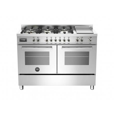 PRO1206GMFEDXT 120 cm 6 bruciatori  piastra doppio forno elettrico Serie Professional