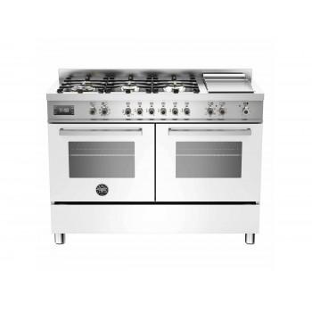 PRO1206GMFEDBIT 120 cm 6 bruciatori  piastra doppio forno elettrico Serie Professional