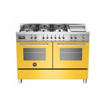 PRO1206GMFEDGIT 120 cm 6 bruciatori  piastra doppio forno elettrico Serie Professional