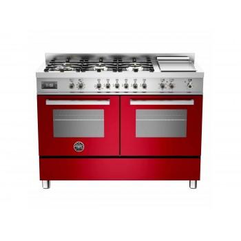 PRO1206GMFEDROT 120 cm 6 bruciatori  piastra doppio forno elettrico Serie Professional