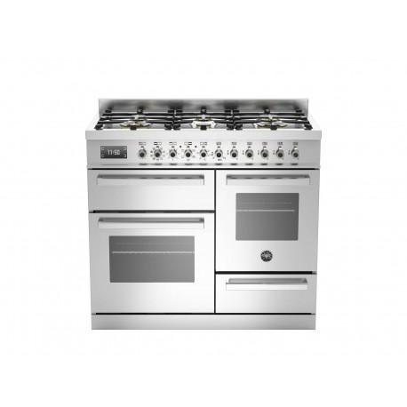 PRO1006MFETXT 100 cm 6 bruciatori forno elettrico triplo Serie Professional