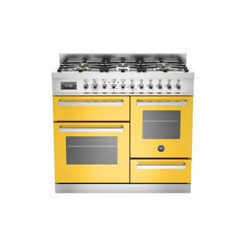 PRO1006MFETGIT 100 cm 6 bruciatori forno elettrico triplo Serie Professional