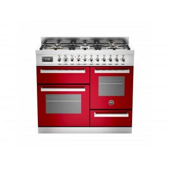 PRO1006MFETROT 100 cm 6 bruciatori forno elettrico triplo Serie Professional