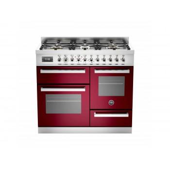 PRO1006MFETVIT 100 cm 6 bruciatori forno elettrico triplo Serie Professional