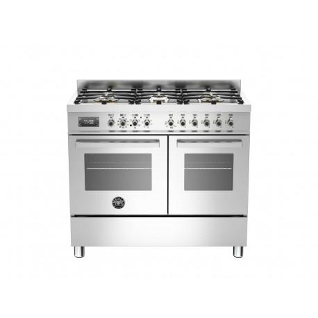 PRO1006MFEDXT 100 cm 6 bruciatori forno elettrico doppio Serie Professional
