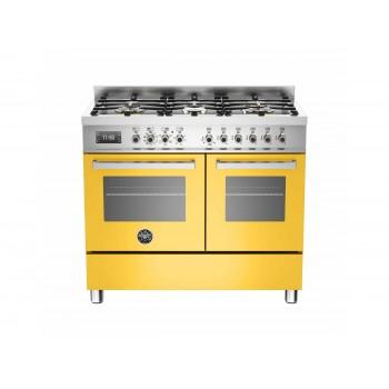 PRO1006MFEDGIT 100 cm 6 bruciatori forno elettrico doppio Serie Professional