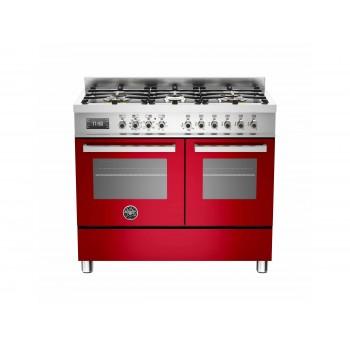 PRO1006MFEDROT 100 cm 6 bruciatori forno elettrico doppio Serie Professional