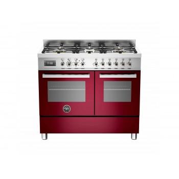 PRO1006MFEDVIT 100 cm 6 bruciatori forno elettrico doppio Serie Professional
