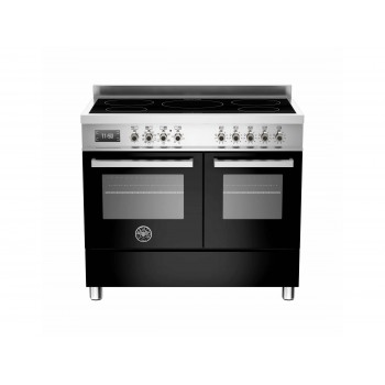 PRO1005INDMFEDNET 100 cm piano a induzione forno elettrico doppio Serie Professional