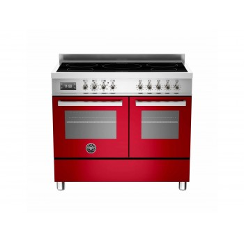 PRO1005INDMFEDROT 100 cm piano a induzione forno elettrico doppio Serie Professional
