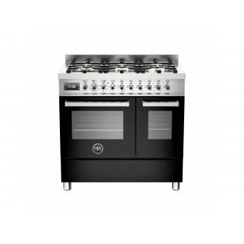 PRO906MFEDNET 90 cm 6 bruciatori forno elettrico doppio Serie Professional