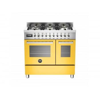PRO906MFEDGIT 90 cm 6 bruciatori forno elettrico doppio Serie Professional