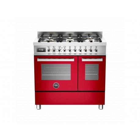PRO906MFEDROT 90 cm 6 bruciatori forno elettrico doppio Serie Professional