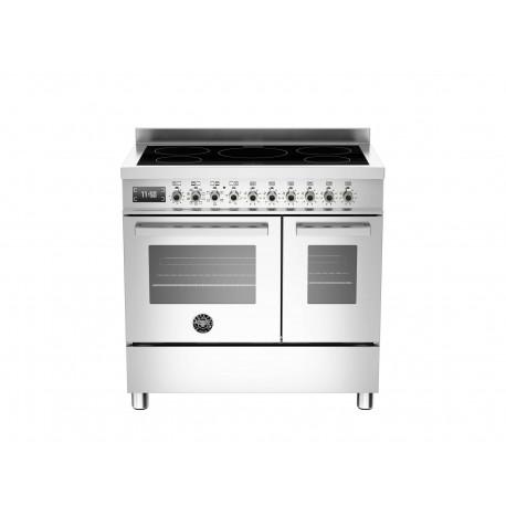 PRO905IMFEDXT 90 cm piano a induzione forno elettrico doppio Serie Professional