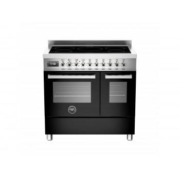 PRO905INDMFEDNET 90 cm piano a induzione forno elettrico doppio Serie Professional